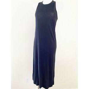 Vince Black Midi Dress Size Small